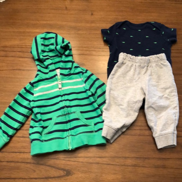Carter's Other - Carter's Infant Boys 3 Piece Set - 9 months